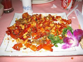 Mein erstes original Chinesisches Essen...