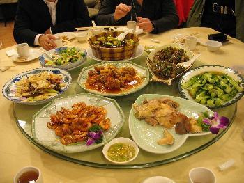 Essen gehen auf Chinesisch