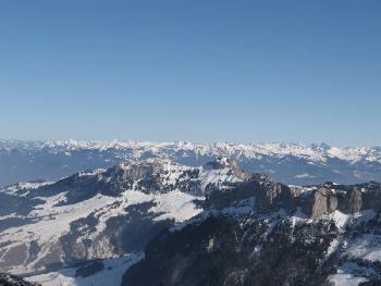 Panorama nach Osten Richtung Österreich