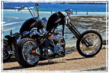\Harley Davidson in Kapstadt