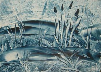 Azurmalai: Blaues Moor / Wachs