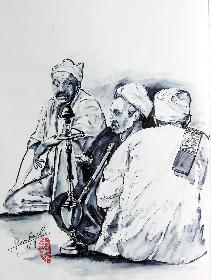 Hoppel Poppel Raucher  von Khan EL Khalil
