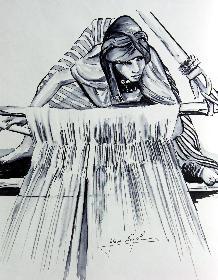 Die Weberin von Khan EL Khalil