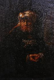 Kopie von RembrandtsKönig Uzzia von 1635