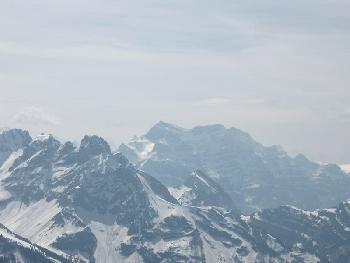 Blick Richtung Glarner Alpen