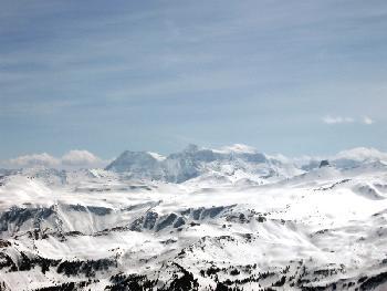 Blick Richtung Surselva (Graubünden)