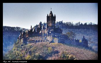Burg Cochem in HDR & TM