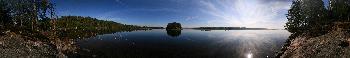 Panorama 360º Insel Gummenäson