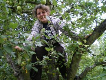 Ich im Apfelbaum