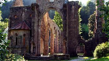 artos: Klosterruine bei Allerheiligen