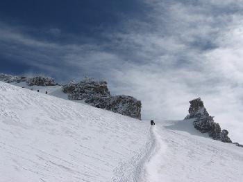 Gipfelfelsen des Gran Paradiso