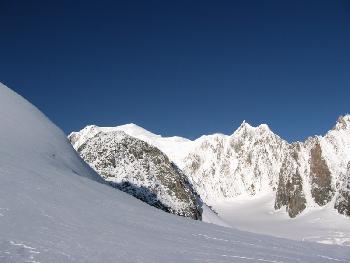 Mont Blanc - Südseite