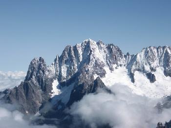 Aiguille Blanche, Peutereygrat & Mont Blanc