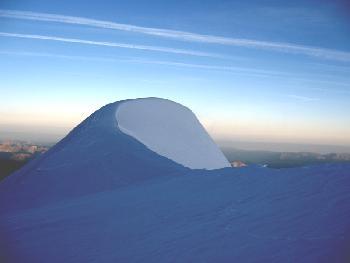 Früh morgens am Dome du Gouter (4304 m)