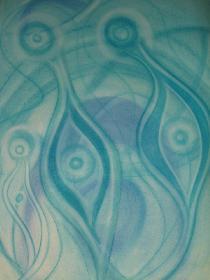 Harmonie in Blau
