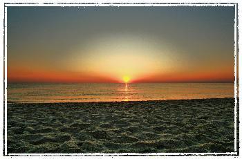 Sonnenaufgang in Tunesien in HDR TM Bearbeitet