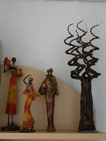 Detail afrikanischer Schrank ..