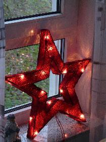Weihnachtsfenster ...