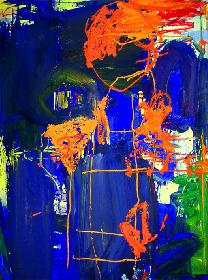 artos: Seinszeit  1998 Acyl auf Lw. 120 x 90 cm