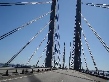 Öresund-Brücke Schweden nah