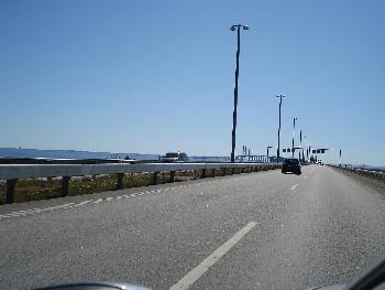 Öresund-Brücke Schweden fern