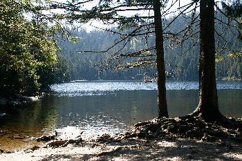 Certovo  jezero   ( Teufelssee )