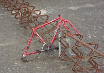 Alleine und vergessen - ein Fahrrad-Foto interpretiert mein derzeitiges Leben