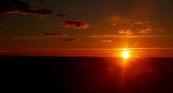 die Pampa am Abend, oder 1000 km später