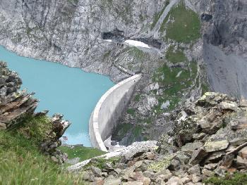 Limmerensee-Staumauer