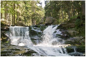 Rießlochwasserfall bei Bodenmais