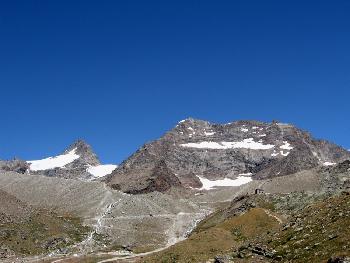 Mein Ziel, das Lagginhorn (4010 m)