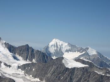 Das Weißhorn (4505 m)