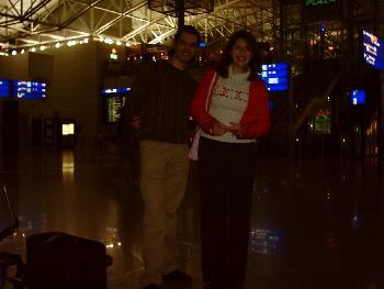 Tag 1 - Flughafen Frankfurt um 5 Uhr nachts