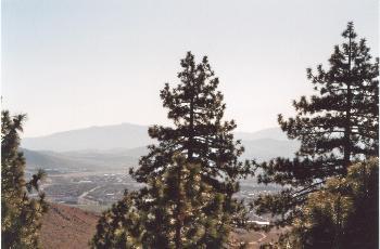 1800m hoch - im Tal Carson City