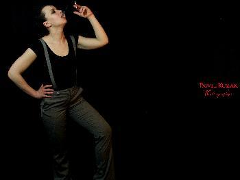 Valerie smoking