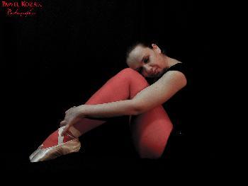 Sleeping ballerina