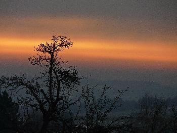 Wundervolle Morgenstimmung ...