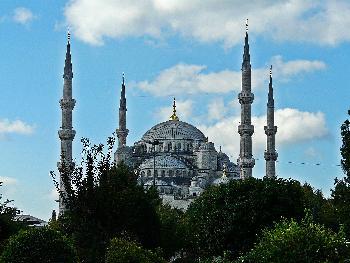Blaue Moschee (Sultanahmet Camii)