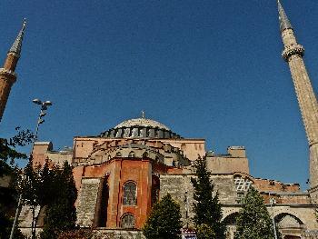 Beeindruckende Hagia Sophia (Ayasofya)