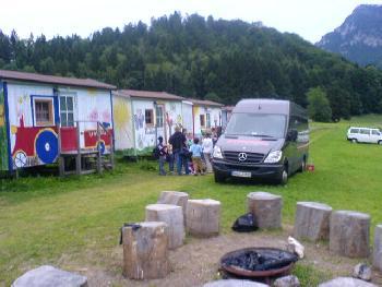 Jugendlager in der schönen Natur des Thalgau (Österreich) 2