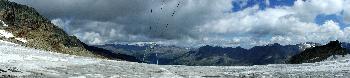 11. Steilanstieg im Tiefenbachgletscher, Höhe ca. 3150m