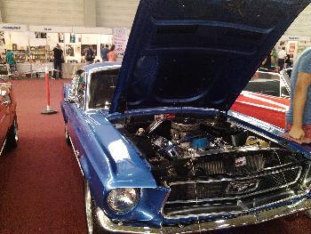 Ford Mustangs Motor