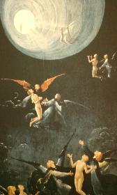 Aufstieg in das himmlische Paradies von Hieronymus Bosch
