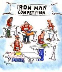 DEr Ironman...Sport für harte Männer