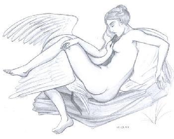15.03.03 - Leda und der Schwan