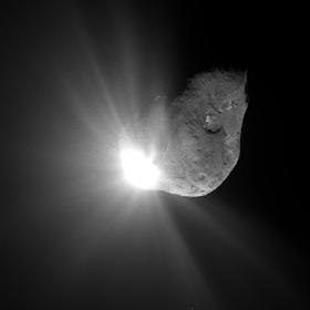 Deep Impact Mission - 67 sek. nach dem Aufprall